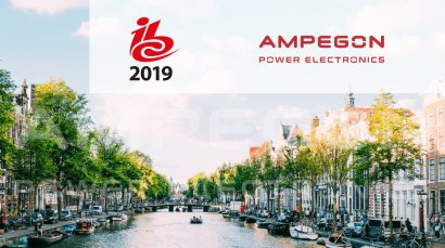 Ampegon Power Electronics at IBC 2019 in Amsterdam