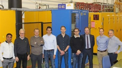 Success for Europe's equipment that will be used to heat up ITER plasma