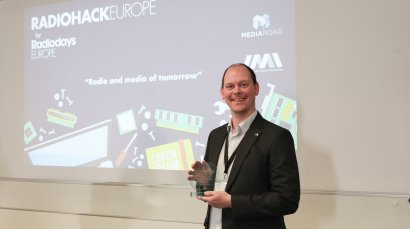 Ampegon wins Radio Hack Europe development prize!