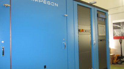 First Ampegon shortwave transmitter ready for delivery